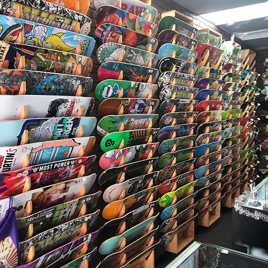 We have a ton of awesome skate decks in