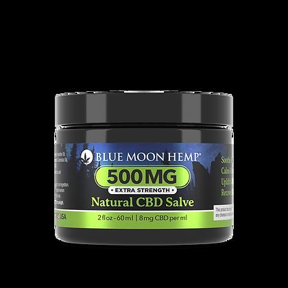 Blue Moon Hemp - Natural CBD Salve - 500mg