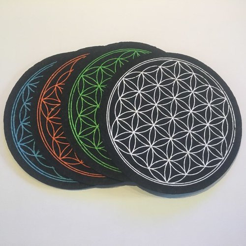 East Coasters - Flower Of Life Dab Mat