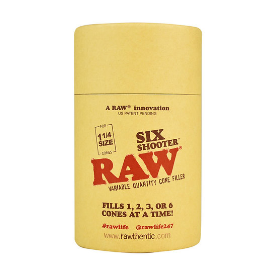 Raw - Six Shooter - Cone Filler