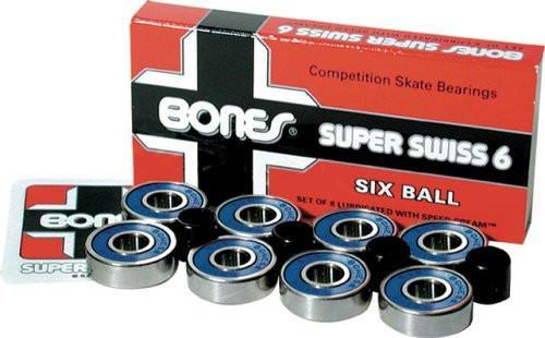 Bones - Super Swiss Six Ball Bearings