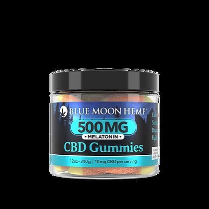 Blue Moon Hemp - Melatonin CBD Gummies - 500mg