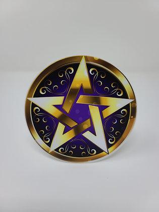 """Sticker - Golden Pentacle - 4"""" x 4"""""""