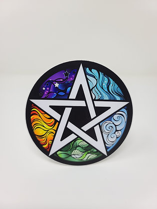 Sticker - Elements Pentacle