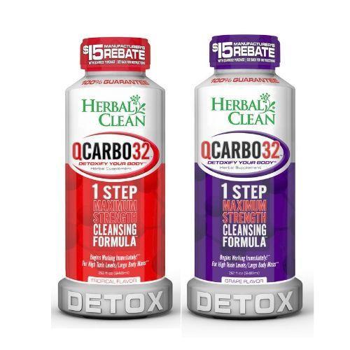 Herbal Clean - QCarbo32 - Cleansing Formula