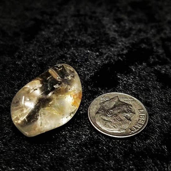 Pocket Stone - Quartz Crystal - Small