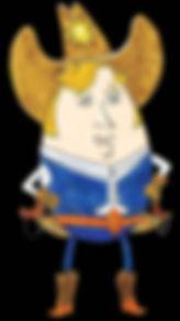 Sheriff Eggy Yolk
