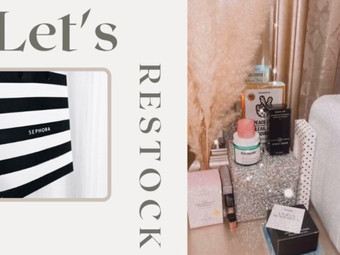 Restock my Must Haves, with me!