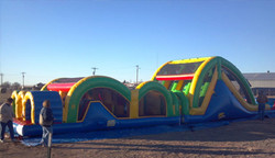 Mega Thrills Obstacle Course