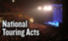 National Touring Acts