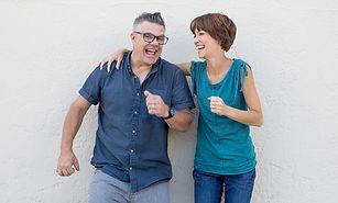Tim Harmston and Mary Mack