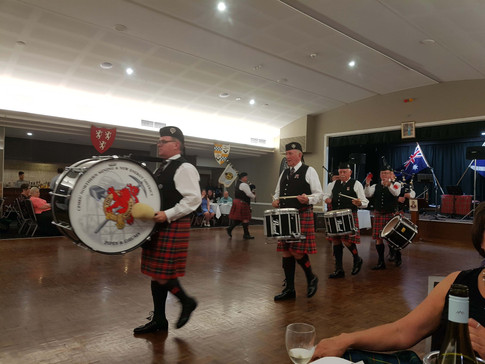 Mineworkers pipe band