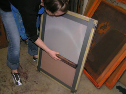Prepping the Screen