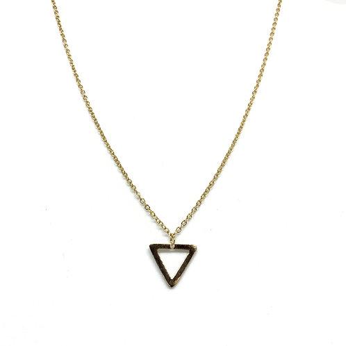 Single Triangle Necklace