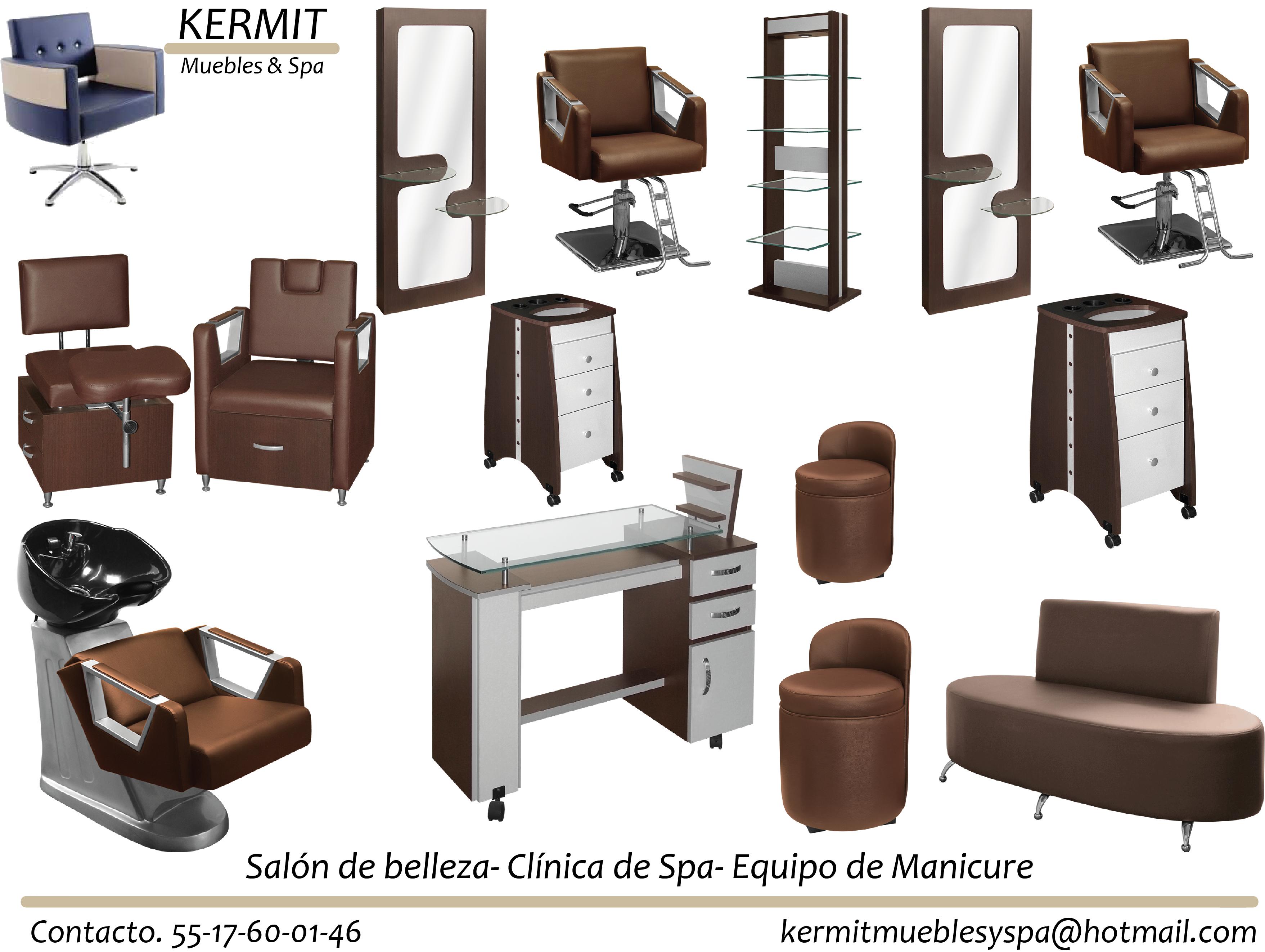 Equipos completos kermit muebles para estetica for Salones completos baratos