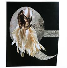Power Object III, 2018 Collage on Bristol board paper, 30cm x 30cm