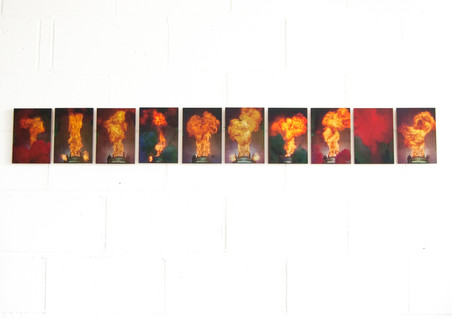 Chantal Powell flames installation.jpg