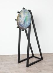 Chantal Powell steel alchemy disc sculpt