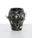 Vessel (the worm),  2020 Glazed ceramic 
