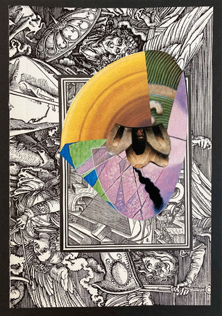 Exercise Three - Dream Sketch III, 2020 Collage on card, A5