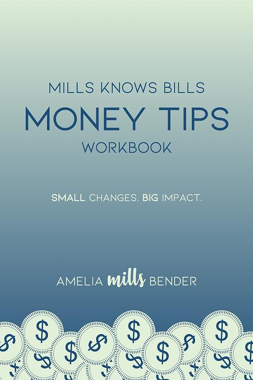 Mills Knows Bills Money Tips Workbook