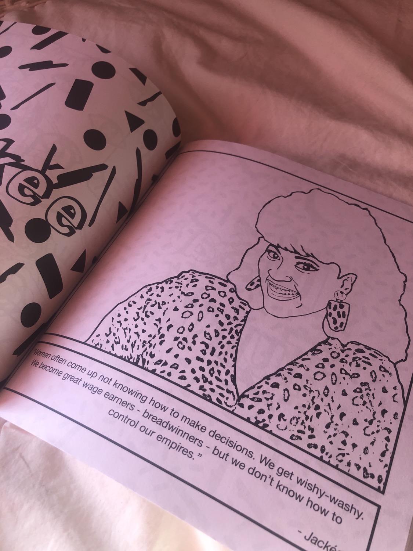 You Go Girl Coloring Book Interior
