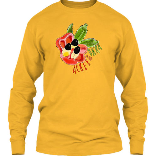 Ackee & Okra Long Sleeve Shirt