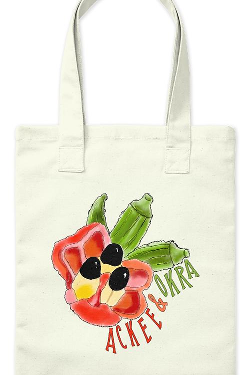 Ackee & Okra Tote Bag