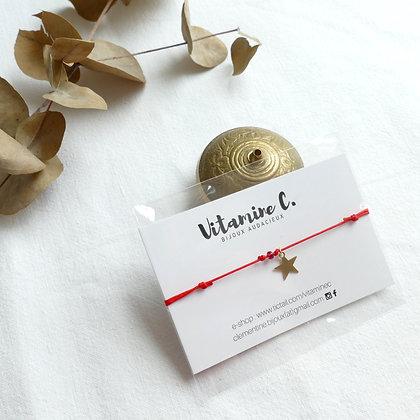 Bracelet JEANNE - rouge