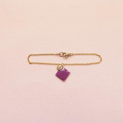 Bracelet MARGAUX magenta