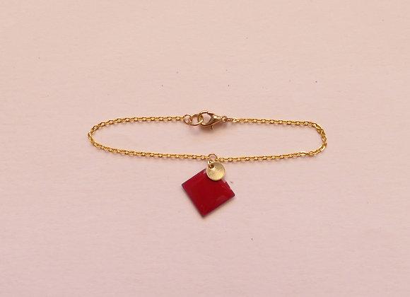 Bracelet MARGAUX cherry