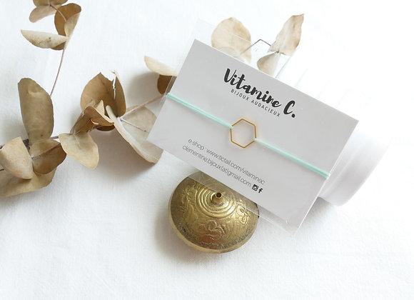 Bracelet INA - menthe