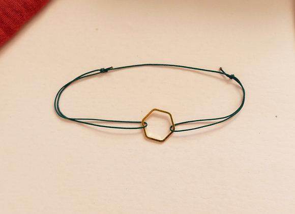 Bracelet INA - émeraude