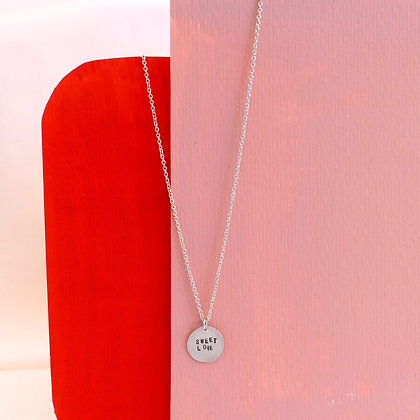 "Collier ""SWEET LOVE"" argent 925"