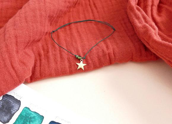 Bracelet JEANNE - émeraude