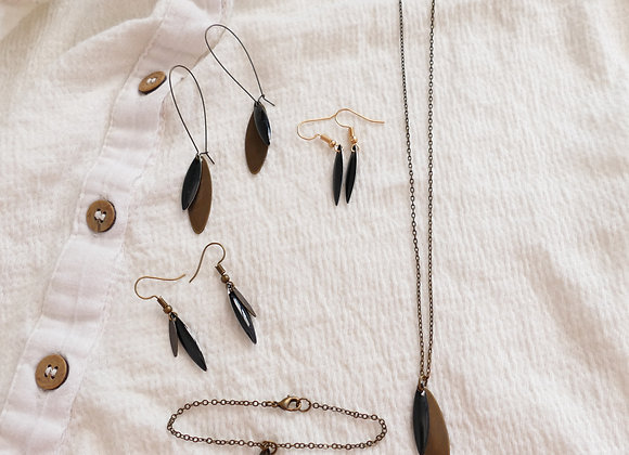 Collier Charly noir