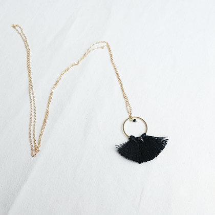 Sautoir LISE noir