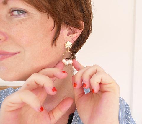 Boucles d'oreilles ROMY - M