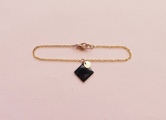 Bracelet MARGAUX carbone