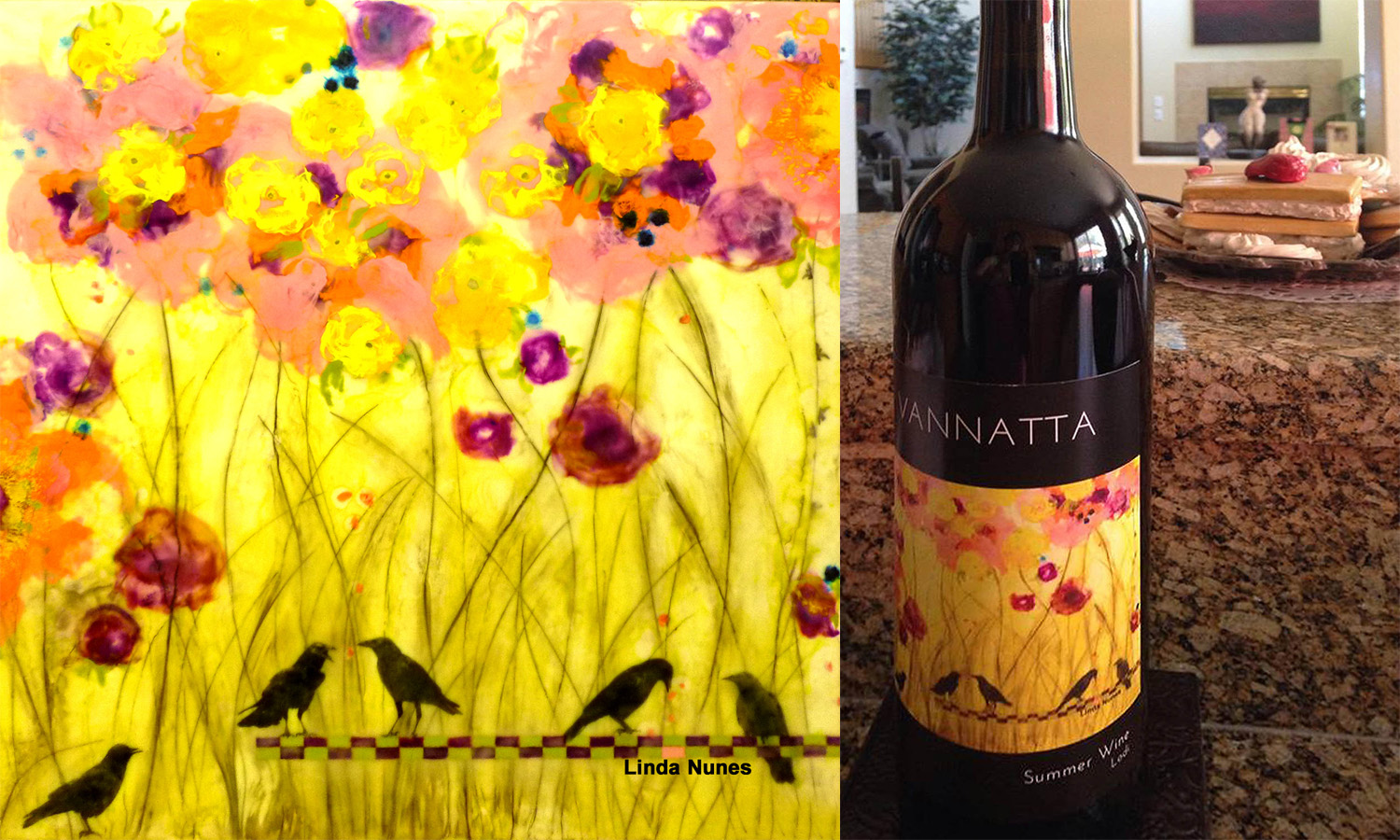 Vannatta Wine Label
