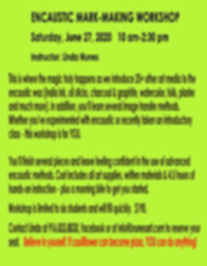 June 2020 Mark Making workshop for websi