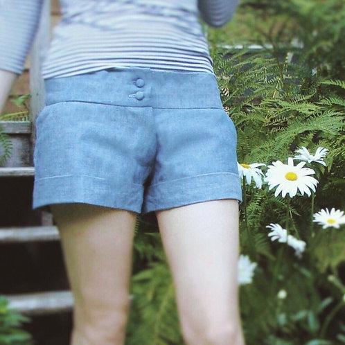 Chambray Sky Shorts
