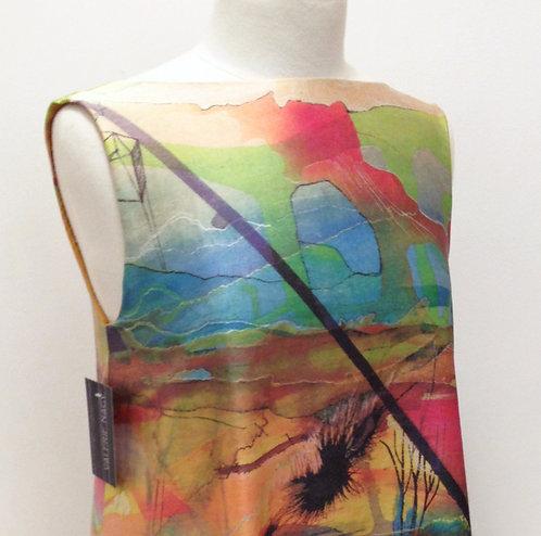 Neon Desert Dress S-M