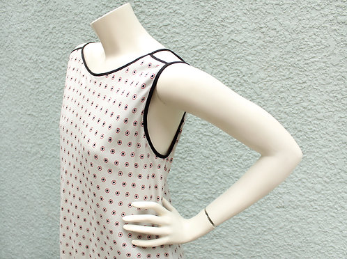 Chopped Shoulder Dress