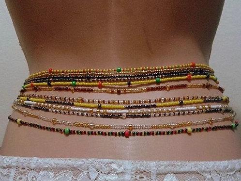 Grace victory waist beads 🦋