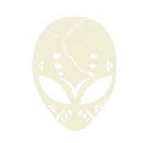 Crystal Lake Alien Logo