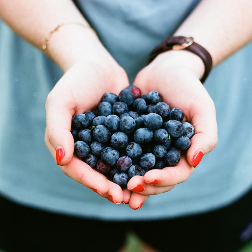 Blueberries facial