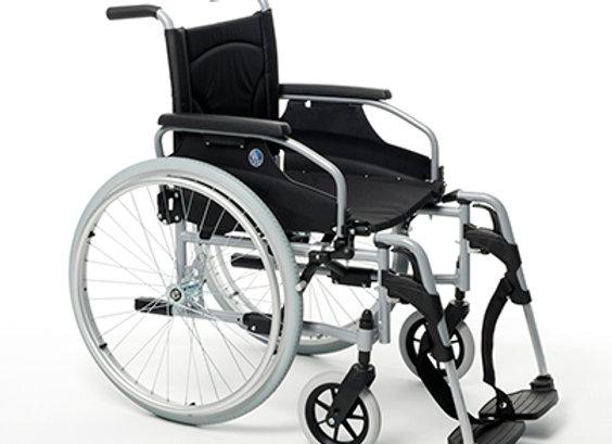 Wózek Inwalidzki - V100 stalowy
