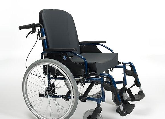 Wózek inwalidzki V100 XXL stalowy