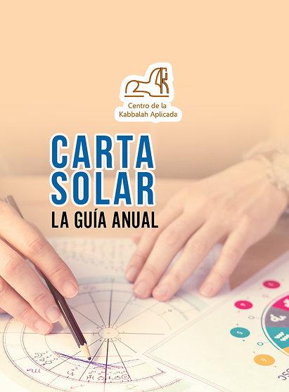 Carta solar. (La guía anual)